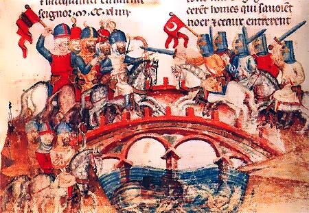 Битва на реке Шайо. Миниатюра XIII в..PNG