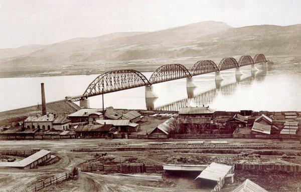 9. Красноярский железнодородный мост, получивший на выставке золотую медаль.jpg